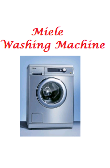 Miele-Imported Washing Machine